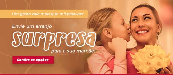 Envie um arranjo surpresa para a sua mãe!
