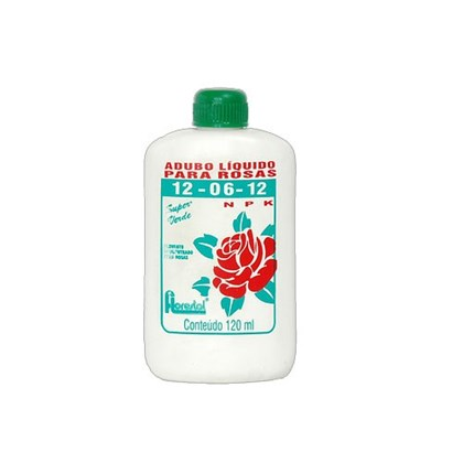 Adubo Líquido Para Rosas 12-06-12 120 Ml