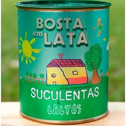 Adubo Solúvel Bosta em Lata para Suculentas e Cactos - 400g.
