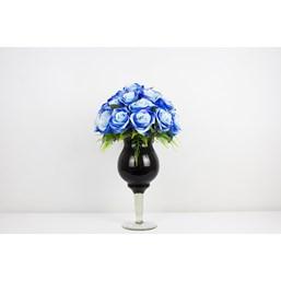 Arranjo Rosas Azuis Permanente (Artificial)