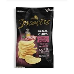 Batata Frita Sensações Sabor Peito de Peru Elma Chips 45g
