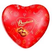 Produto Biscoito Bauducco Sabor Leite com Cobertura de Chocolate ao Leite Coração 115G