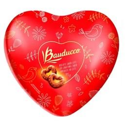 Biscoito Bauducco Sabor Leite com Cobertura de Chocolate ao Leite Coração 115G
