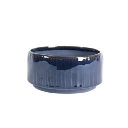 Cachepô de Cerâmica Senne Azul - 9cm x 19cm