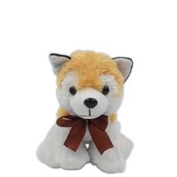 Cachorrinho Husky Caramelo Sentado (20 cm)