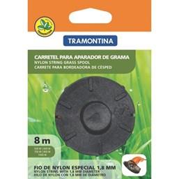 Carretel 1 Fio de Nylon para Aparador de Grama com 8m - Tramontina
