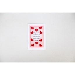 Cartão de Presente – Amor & Paixão