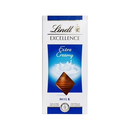 Chocolate Lindt Excellence Ao Leite Extra Cremoso 100g