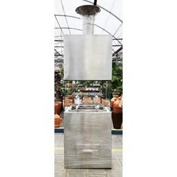 Churrasqueira Gourmet Em Inox 76cm x 2,82cm