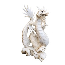 Dragão Chinês Branco