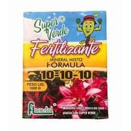 Fertilizante 10-10-10 - Super Verde - 1 Kg