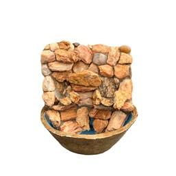 Fonte em Pedra Mauro 30cm x 30cm - Modelos Variados
