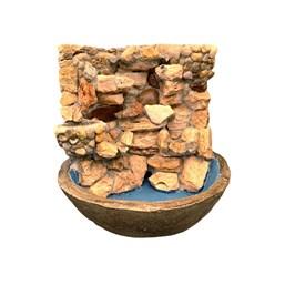 Fonte em Pedra Mauro 43cm x 45cm - Modelos Variados