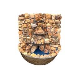 Fonte em Pedra Mauro 60cm x 60cm - Modelos Variados