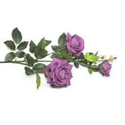 Haste Rosa 3 Flores 95cm 2107 - Lilás