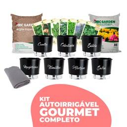 Kit AutoIrrigável Gourmet Completo