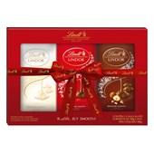 Produto Kit Barra de Chocolate Sortido Lindt Lindor 300g 3 Unidades