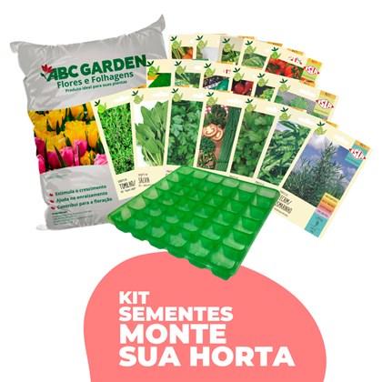 Kit Sementes Horta Gourmet