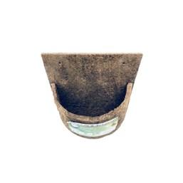 Meio Vaso N° 17 Placa Grande 26cm X 29cm