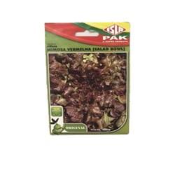 Semente De Alface Mimosa Vermelha ( Salad Bowl) 250mg