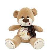 Produto Urso de Pelúcia Bordado Com Cachecol (32 cm)