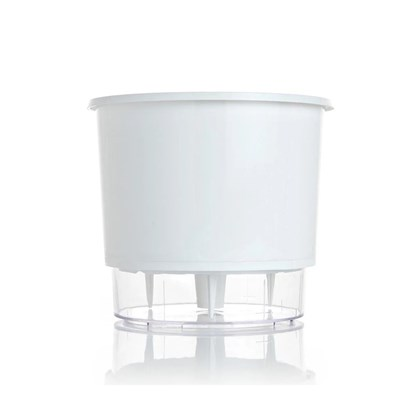 Vaso Autoirrigável Médio - Branco - 15cm x 16cm