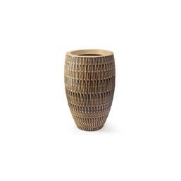 Vaso Bambu Oval Envelhecido