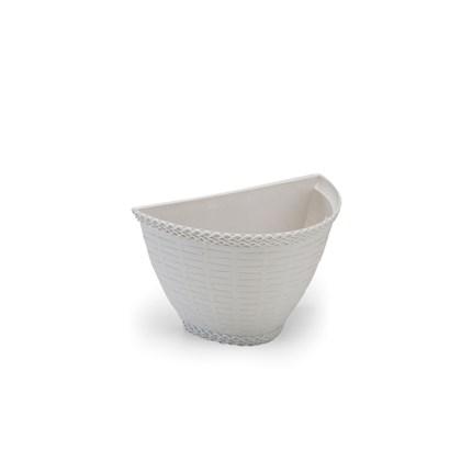 Vaso de Parede Rattan 0,5L - Mármore