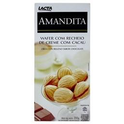 Wafer Lacta Recheado Amandita Chocolate 200g